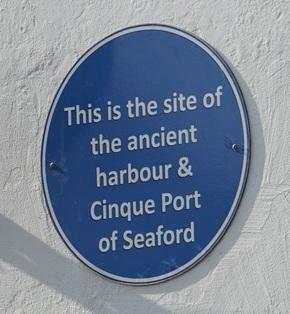 Old harbour plaque